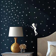 Leuchtaufkleber fluoreszierende Elfe Sterne Punkte leuchtend Sternenhimmel