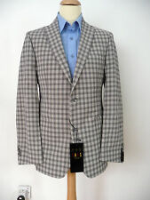 DAKS Brand New with tag Black White Checked Jacket Size 40R RRP £495