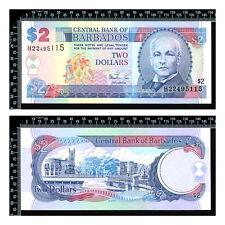 Barbades : 2 Dollars 1998 neuf