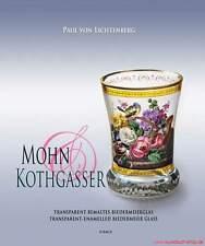 Libro specializzato papavero & Kothgasser, trasparente bemaltes Biedermeier vetro riduce fortemente