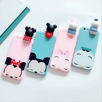 Cute 3D Cartoon Animals Soft TPU Silicone Case Cover For iPhone 6 6s 7 Plus