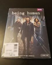 BBC Being Human: Series Two (DVD, 2010, 3-Disc Set) Brand New Free Shipping SH3