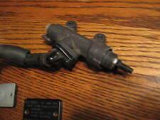 2003-4 Honda CBR600RR CBR 600RR 600 rear brake master cylinder resevoir hose