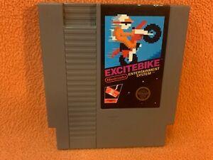 Excitebike Nintendo NES Original Authentic Retro Classic Game!