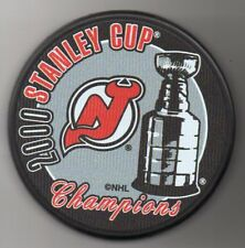 New Jersey Devils 2000 NHL Stanley Cup Champions Hockey Puck + FREE Cube