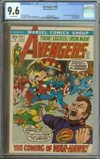 AVENGERS #98 CGC 9.6 OW PAGES