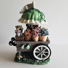 Ivy & Innocence Blossoms Flower Cart Miniature Figurine 1997 BN 1050 05121
