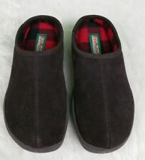 Blitz Men's Slippers by Slippers International Leather and Flannel Size 7M