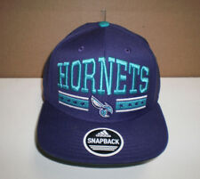 NEW MEN'S NBA CHARLOTTE HORNETS  EMBROIDERED  ADJUSTABLE SNAPBACK  CAP  OSFA