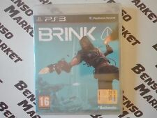 BRINK - FPS ONLINE - SONY PS3 PLAYSTATION 3 - PAL ITA ITALIANO - NUOVO SIGILLATO