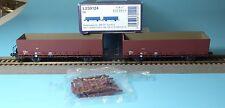 Liliput 230124 Zweiteiliges Set Rungenwagen Typ Fbk 21 der SBB Ep.4 neu in OVP