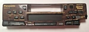 Panasonic RD595 tape player Stereo used Faceplates Old School Car Audio