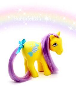 ⭐️ My Little Pony ⭐️ G1 Vintage Euro 7 Tales Bon Bon Beautiful!
