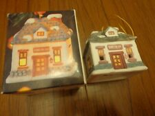 Dickens Village Room for Hire Bell Lite Mini Tree Light cover Bisque Porcelain