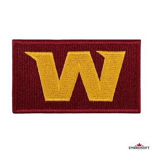 🏈Washington Football Team Patch, WFT Emblem, Embroidered American Football Logo