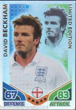 MATCH ATTAX World Cup 2010 David Beckham ENGLAND LIMITED EDITION