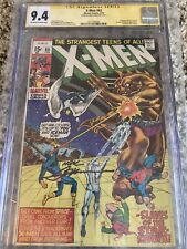 X-MEN #65 CGC SS Signed Neal Adams NM- / HAVOK POLARIS APPEARANCE / MARVEL COMIC