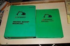 MITSUBISHI MS450-8 Trackhoe Crawler Excavator Repair Shop Service Manual owner