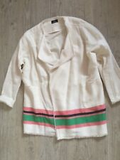 Manteau One Step coton blanc cassé taille 42 over size voir dimensions Neuf