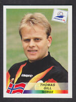 Panini - France 98 World Cup - # 84 Thomas Gill - Norge