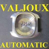 cassa crono valjoux eta 7750 automatic case watch chronograph old vintage steel