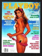 PLAYBOY 04/1995 Danelle Folta