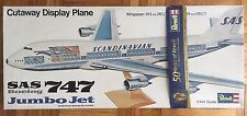 1/144 Scale Revell Boeing 747 Cutaway Display Model - Rare, Unopened Box