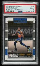2018-19 Panini NBA Hoops Road to the Finals First Round /2018 Kevin Durant PSA 9