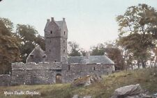 DUNDEE - MAINS CASTLE COLOUR POSTCARD (EARLY 1900s)