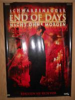 End of Days Arnold Schwarzenegger - Filmplakat 60x80cm gerollt