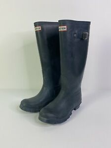 Hunter Tall Rain Boots Size 5