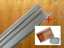 Alufolie Alu Sauna Dampfsperre Aluminiumfolie Aludampfsperre Folie 10mx0,03mm