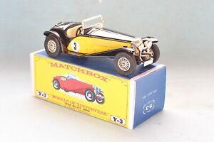 Matchbox Yesteryear Y3-3 Riley MPH (1934) - Code 3 (D89)
