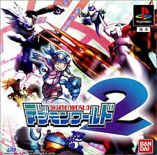 PS1 DIGIMON WORLD 2 Japan PS PlayStation 1 F/S