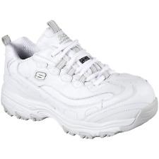 Skechers Womens D'Lites SR Pooler Safety Toe Work Shoe White 9 #NLJTA-M568