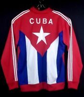 ADIDAS CUBA Flag Limited Edition Men Track Jacket Cuba Firebird TT Size 4XL