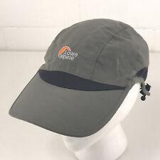 Lowe Alpine 5 Panel hat lightweight running trail cap gray  hbx31
