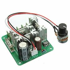 2Pcs 6V-90V 15A Pulse Width Control PWM DC Motor Speed Regulator