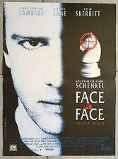 Affiche FACE A FACE Knight Moves CHRISTOPHE LAMBERT Tom Skerritt 40x60cm *