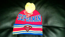 Superman Red Child Beanie