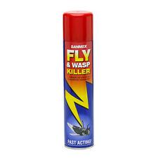 1x Sanmex Fly & Wasp Killer spray 300ml