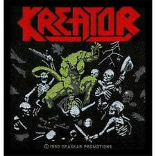 OFFICIAL LICENSED - KREATOR - PLEASURE TO KILL SEW-ON PATCH THRASH METAL