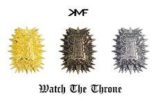KMF CUSTOM WATCH THE THRONE METAL DUBRAES PREMIUM LACE LOCKS