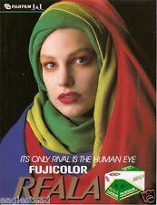 Film Brochure - Fuji - Fujicolor Reala - c1989 (CB121)