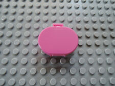 LEGO 1 x Scala Koffer 6203 oval dark pink 3118 5870 5890