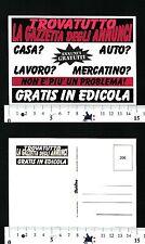 TROVATUTTO LA GAZZETTA DEGLI ANNUNCI - GRATIS IN EDICOLA - PUBBLICITARIA - 57021