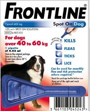 Frontline Spot On Flea and Tick treatment for Extra Large Dogs 40-60kg 1 pipette