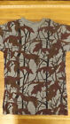 NEW Vtg Mirage Camo/Camouflage Hunting T-Shirt  Sz S USA made Paper Thin