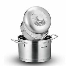 Charms Stainless-Steel 2-Layers Soup Steamer Pot |22JCC08| 22cm
