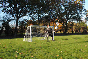 6x4ft Football Goal with folding frames- Great for the Garden - Made by MH Goals
